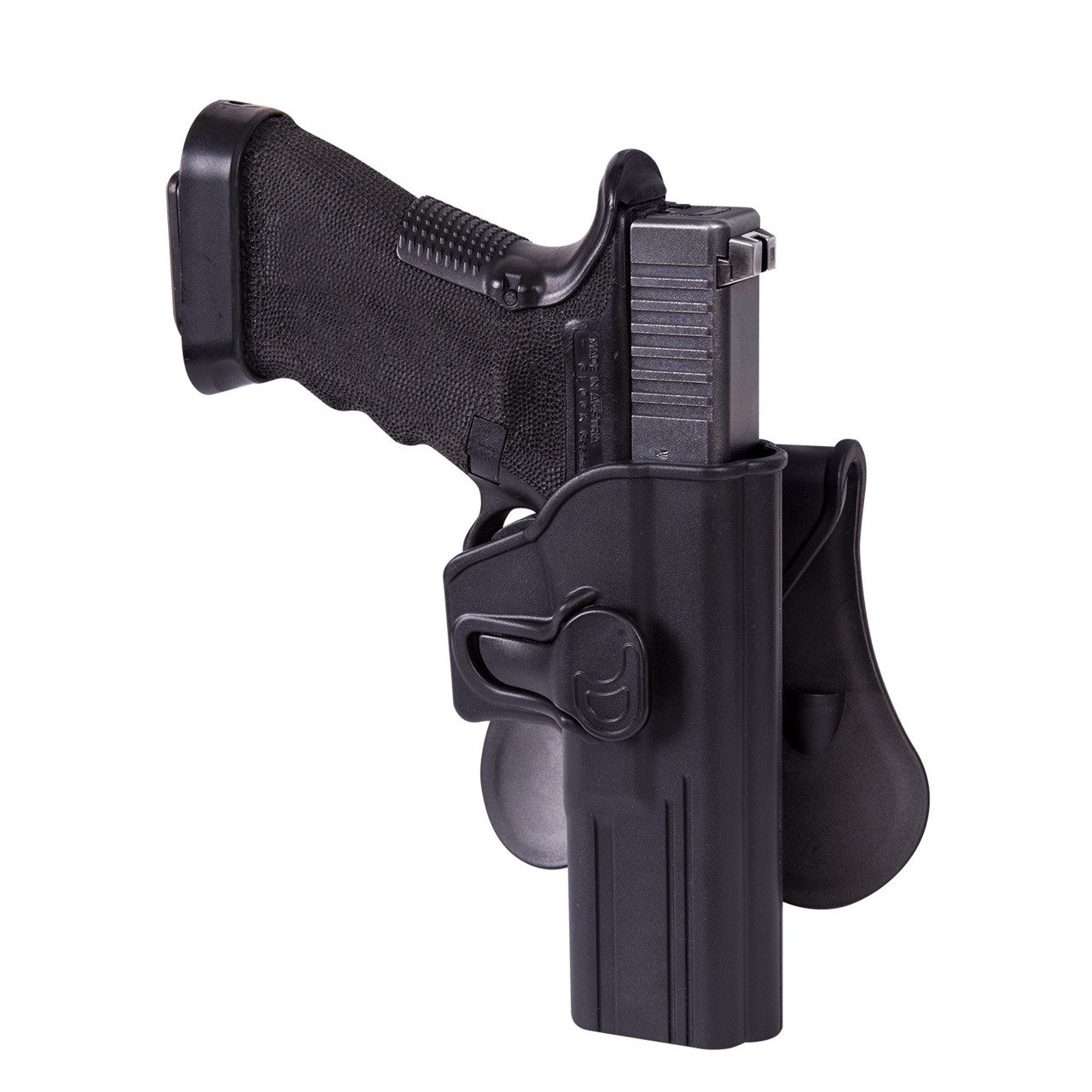 Leather Tactical Military Army Small Gun Holster Shooting Pistol Holster KB