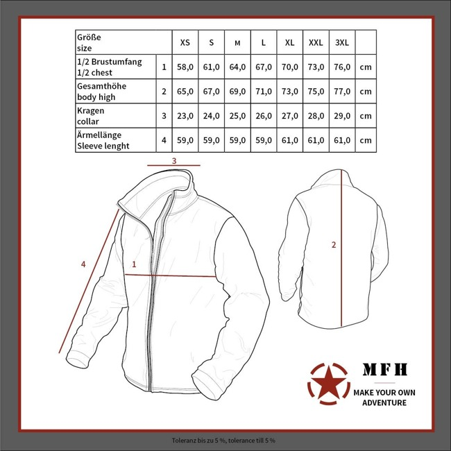"Fleece Jacket, ""Cold Weather"", GEN III, Foliage"