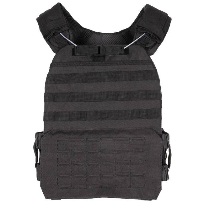 "Tactical Vest, ""Laser Molle"", Black"