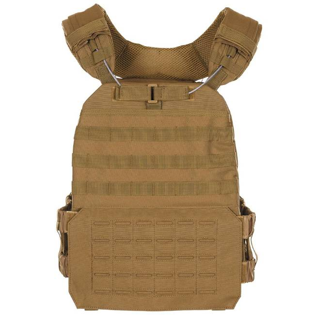 "Tactical Vest, ""Laser Molle"", Coyote"