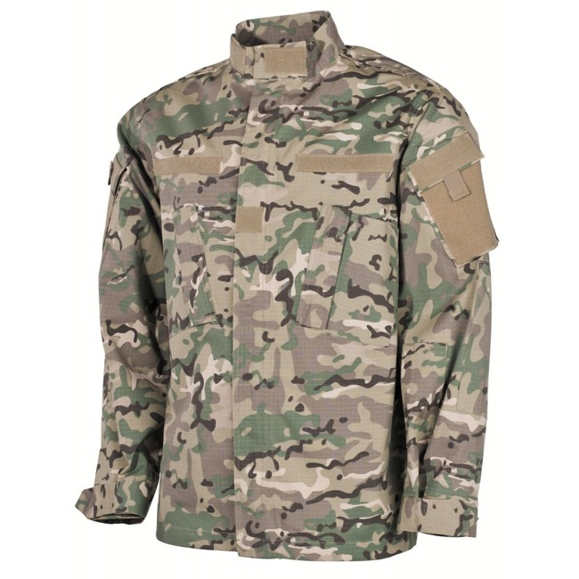 US Field Jacket ACU, Rip Stop, Operation Camo