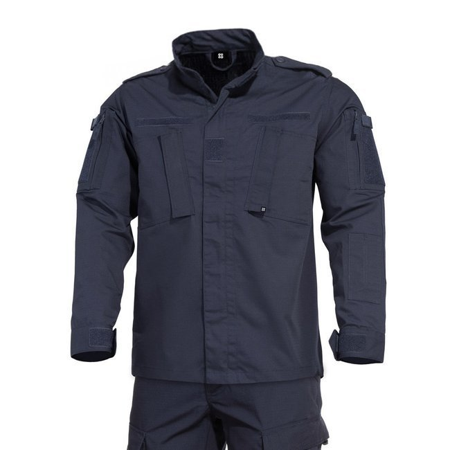 ACU SUIT 2.0 SHIRT - RIPSTOP - NAVY BLUE - LECTER TACTICAL