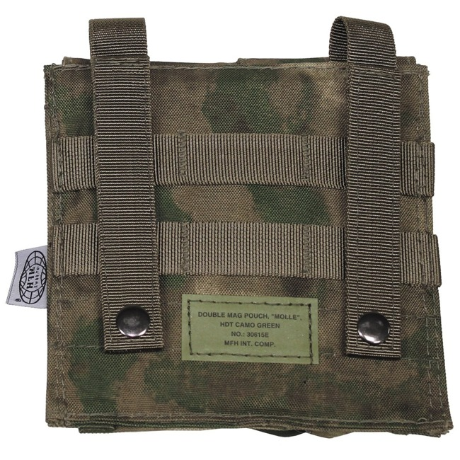 "Ammo Pouch, double, ""Molle"", HDT camo green"