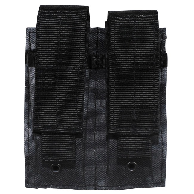 "Ammo Pouch, double, ""Molle"", small, HDT camo grey"