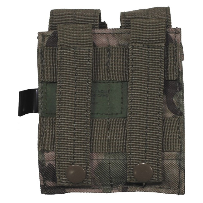 "Ammo Pouch, double, ""Molle"", small, operation camo"