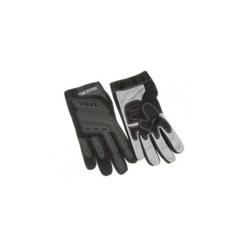 Black/grey tactical gloves