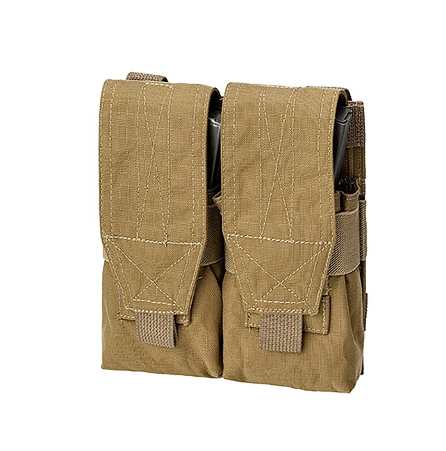 DOUBLE M4+AK POUCH - Coyote