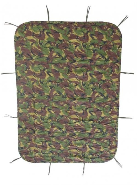 Dutch army dpm camo poncho liner like as new