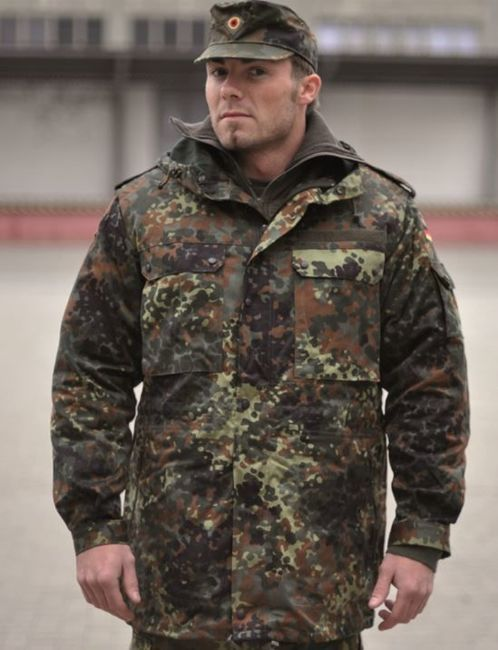GERMAN GENUINE FLECTAR PARKA WITH LINER