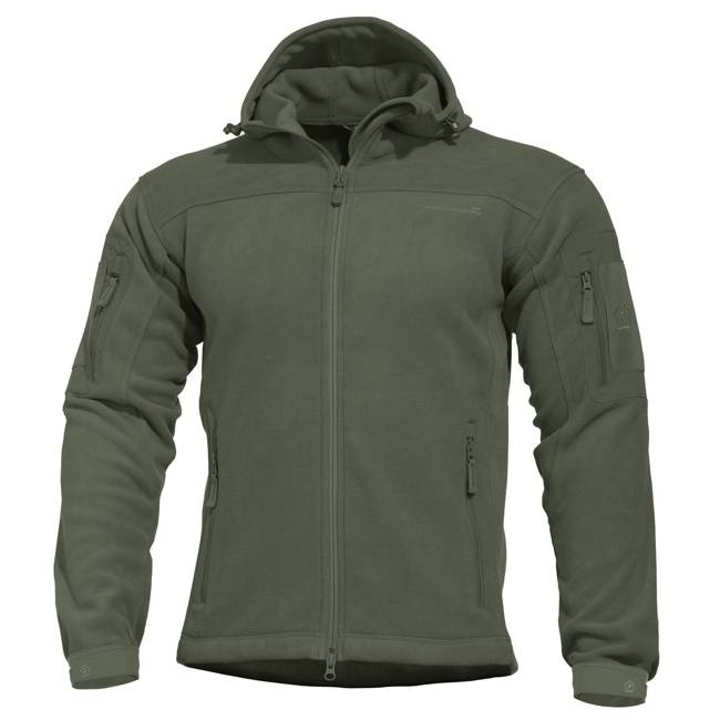 HERCULES FLEECE JACKET - OLIVE