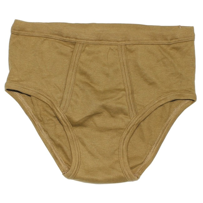 NL briefs man, brown, used
