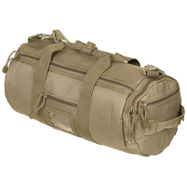 "Operation Bag, round, ""Molle"", coyote, 12 l"
