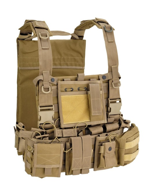 RECON HARNESS ARMOUR, ARMOR VEST - Coyote Tan