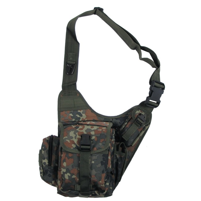 Shoulder Bag, BW camo