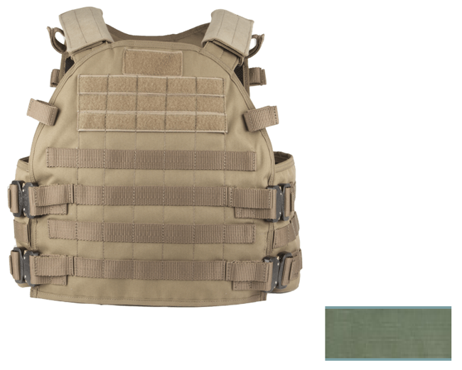 THOR Gen.2 Armor Carrier Vest O.D. Single Curved Multi-Use