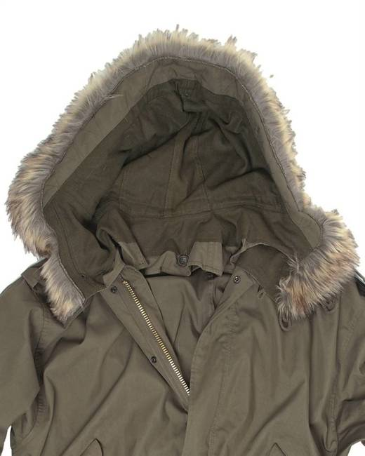 US FUR HOOD FOR M51 SHELL PARKA