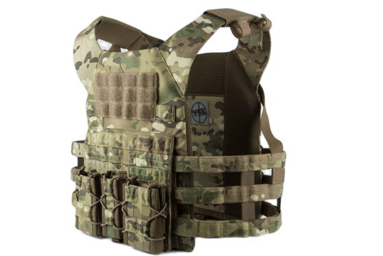 Vest ODIN Plate Carrier Multicam Single Curved Multi-Use