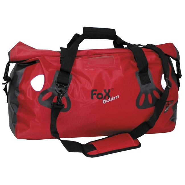 "Waterproof Carrier Bag, red, ""DRY PAK 40"""