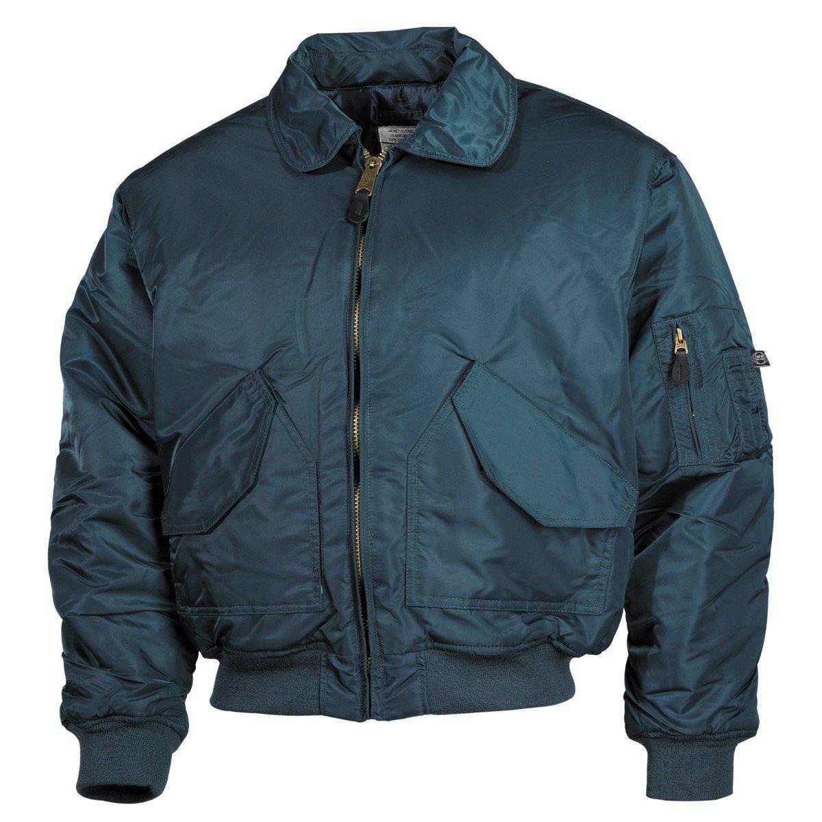 MFH CWU bomber pilot dzseki, kék Kék   Ruházat Dzsekik
