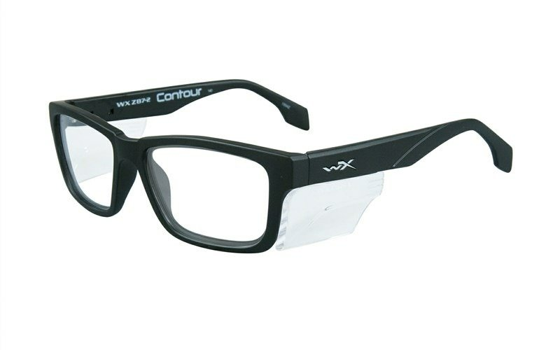 Szemüveg Wileyx CONTOUR Clear Lens Matte Black Frame