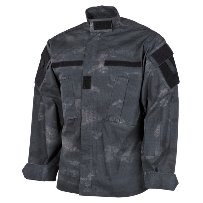 US Field Jacket ACU, Rip Stop, HDT Camo Grey