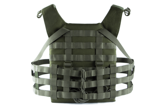 Mellény ODIN Plate Carrier O.D. Multi Curved Multi-Use