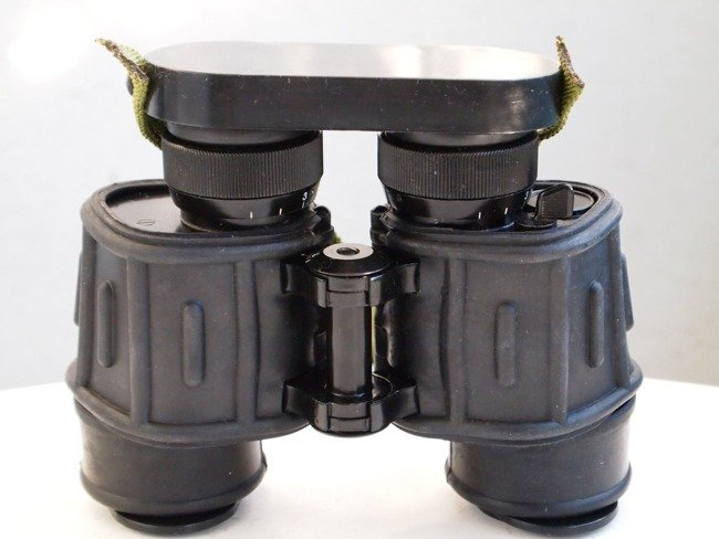 Military Binoculars (infrared filter),  IOR 7x40, Romanian Army Surplus - used