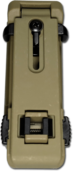Pisztolytáska MOLLE Swiveling Plastic Holster For Magazine 9mm coyote